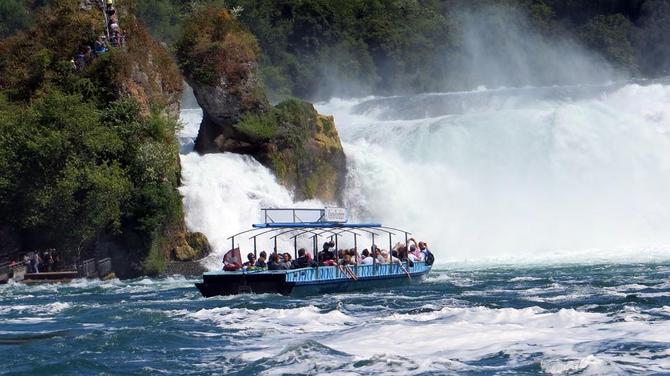 Rhine Falls Boating