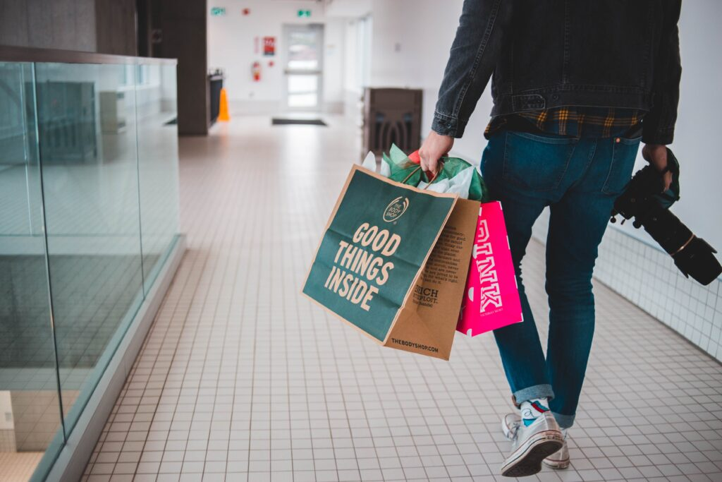 enjoy shopping in these shopping malls