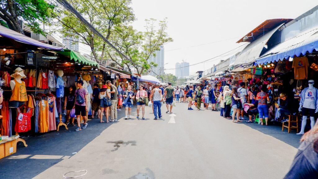 popular Bangkok markets